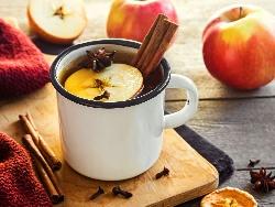 Ябълков чай (със сок от ябълки) - снимка на рецептата